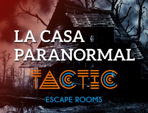 La Casa Paranormal Room Escape Valencia
